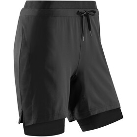 cep Training 2in1 shorts Damer, sort